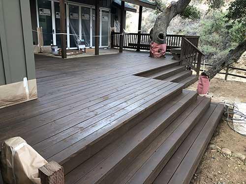 deck refinishing Temecula