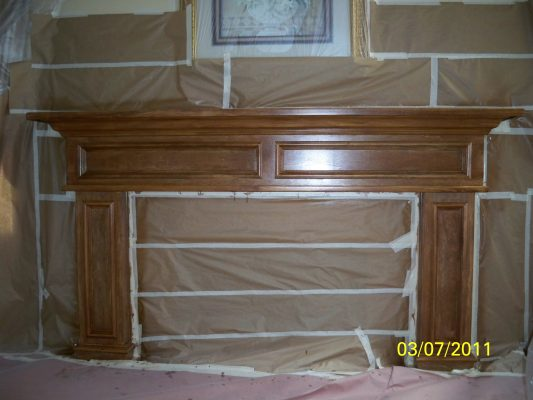Temecula fireplace refinishing