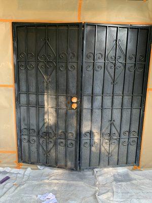 screen door repaining